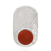 Colgante en plata con Jaspe rojo (MONOSONO COLLECTION)