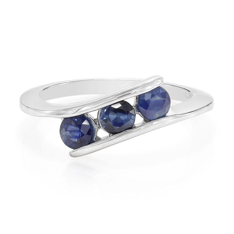 65505dd8747a Anillo en plata con Zafiro azul-5210GK