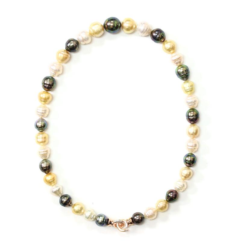 df207c704dfe Collar en oro con Perlas del Mar del Sur (M de Luca)-7334UV