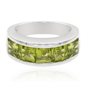 Anillo en plata con Peridoto (Memories by Vincent)