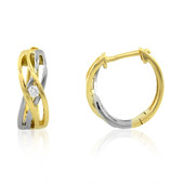 Pendientes en platino con Diamante limpio a lupa F (LUCENT DIAMONDS)