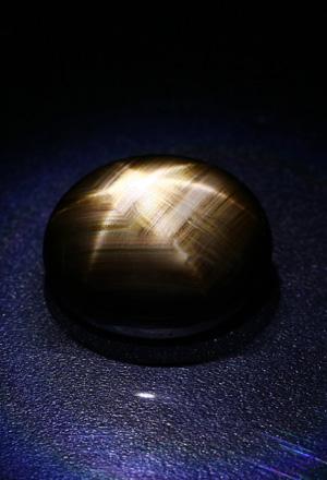 Zafiro estrella negro